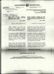 La resolución del Patronato de Urdaibai sobre las obras del chalés de los Atutxa.