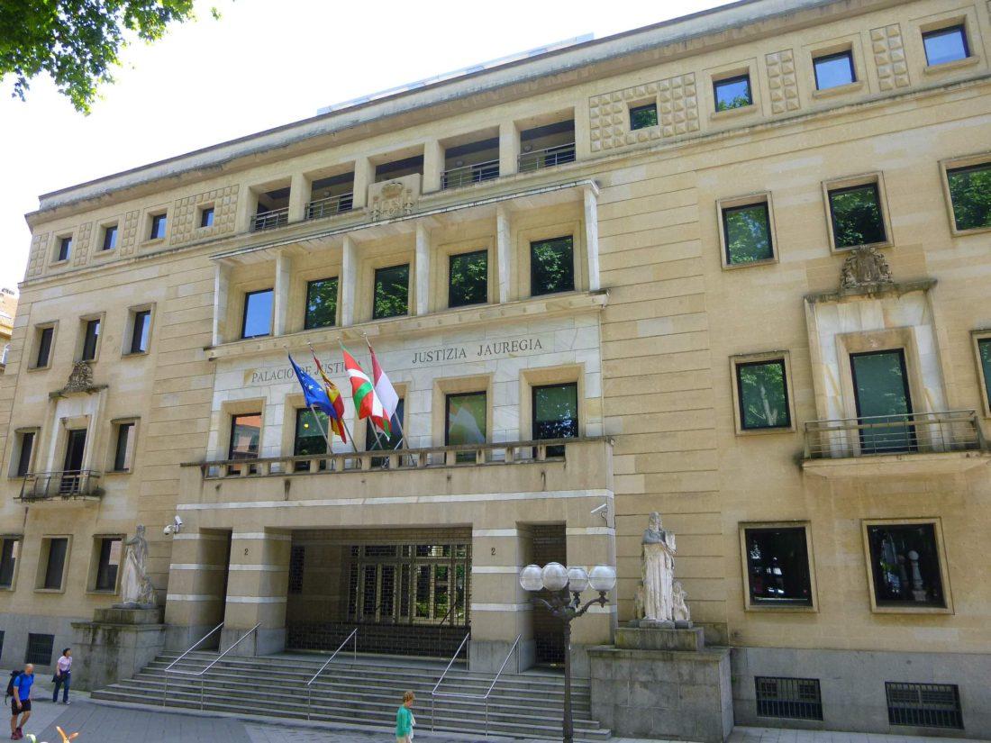 Palacio de Justicia de Bilbao.